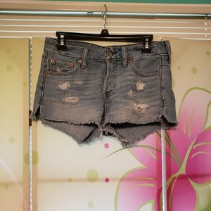 Abercrombie and Fitch jean shorts size 24